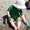 Digging some sand