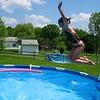 Hayden jumping in