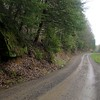 What fun it was to drive on this muddy, rock covered road