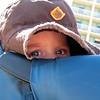 Nolan peeking out