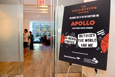 The Collective Culture - Pre Reception & Panel Apollo Theater Between The World & Me 10-22-19 by Jon Strayhorn