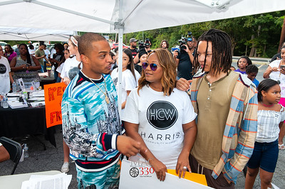 T.I.'s Harris Community Works & Friends VOTER REGISTRATION DRIVE Northwest Atlanta 10-8-18 by Jon Strayhorn