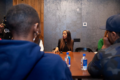 A Roundtable Discussion - Unfinished Business w Tamika D Mallory & T.I.P. @ The Gathering Spot 2-24-19 Jon Strayhorn