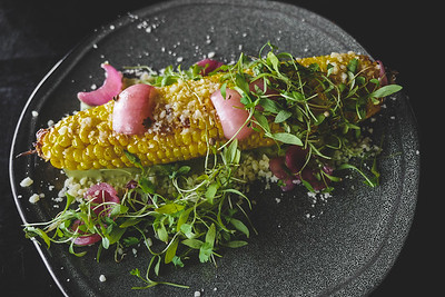 ROASTED SUMMER CORN ELOTES