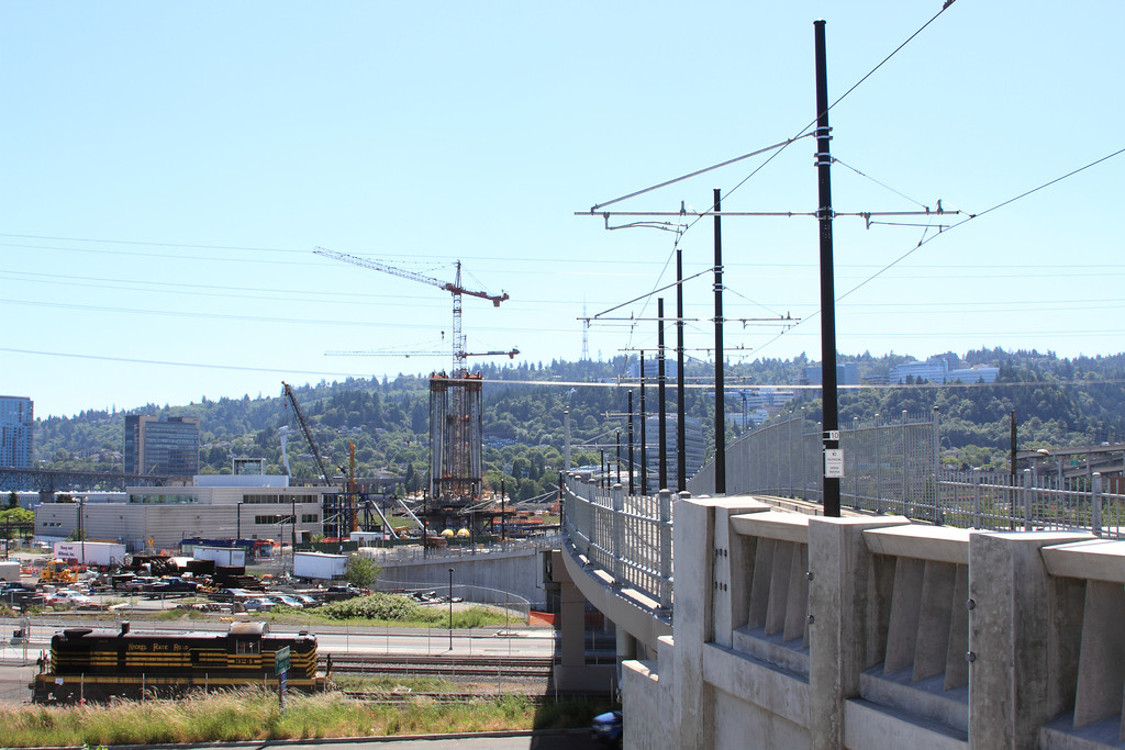 Facing West from Streetcar Alignment 01