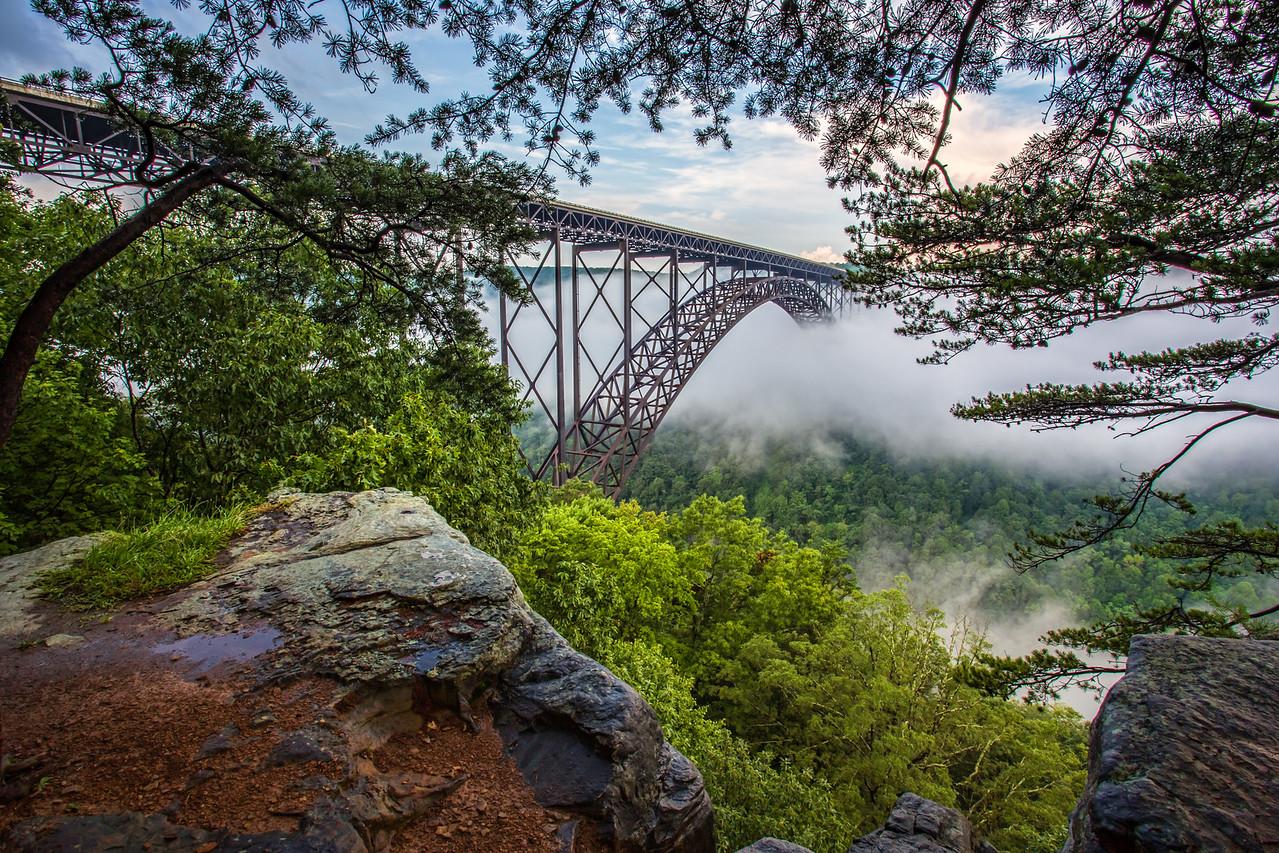 Bridge Buttress Fog