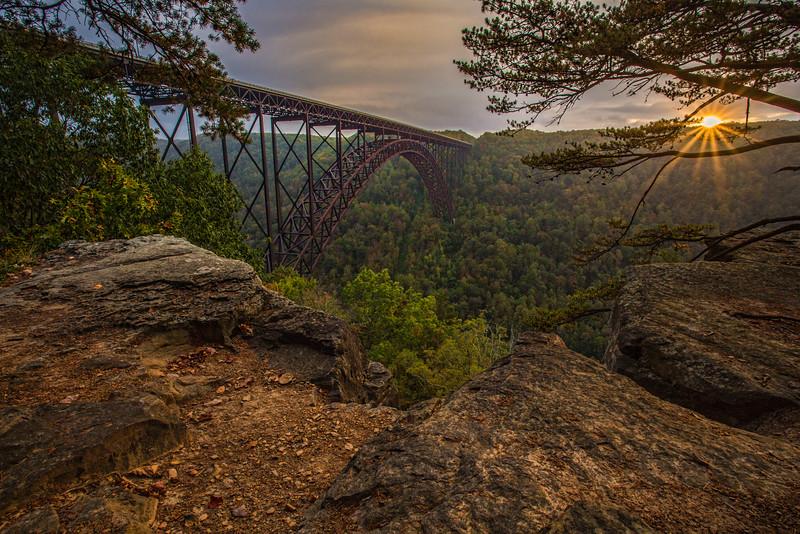 Bridge Buttress Sunset
