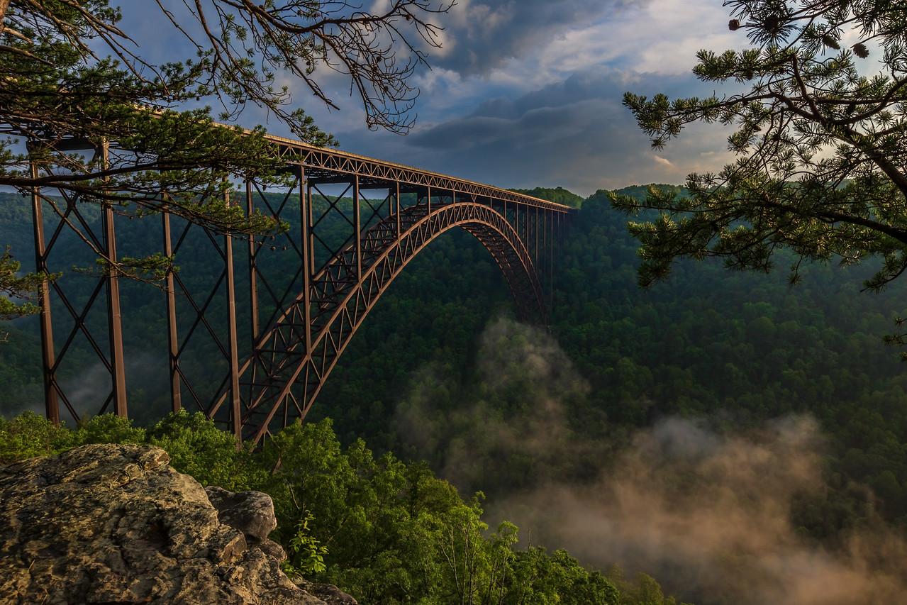 Bridge Buttress - Evening Light