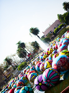 Spheres at MacArthur Park