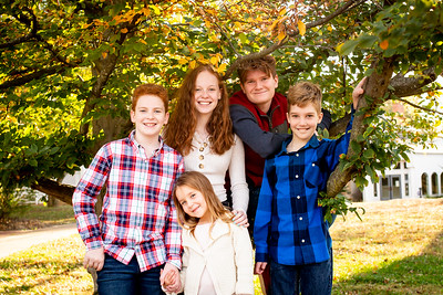 Kids at Tree-3439