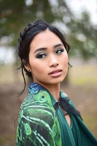 Model: Gina Setter Makeup: Evie Selaty  Hair: Aly Wenson