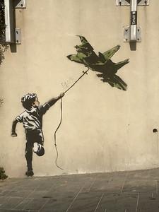 Banksy-esque in Tel Aviv