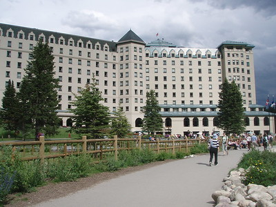 The Fairmont Chateau.