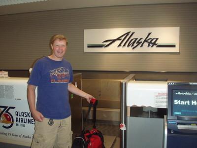 WooHoo...We're off to Alaska!