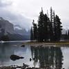 Spirit Island, Lake Maligne, Jasper National Park (Sept 2012)