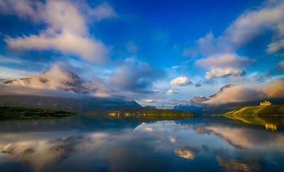 Wateron Lake - Waterton Lakes National Park, Alberta