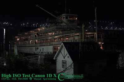The Canon EOS-1D X Digital Camera - Test Photo ISO 25600