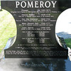 Grave marker of Gen. Seth Pomeroy, a Rev War general, who is also buried in this cemetery
