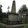 The monument erected over John Paulding's grave.