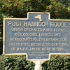 Historical marker at the Post Hannock House, where General Washington presented the medals to the three militiamen who captured Major Andre.