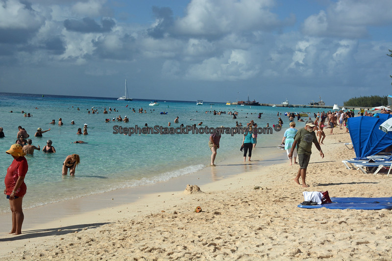 A beach located on Grand Turk an island located in the Bahamas.