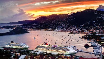 Cruising Saint Thomas, US Virgin Islands