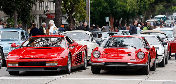 The Carmel-by-the-Sea Concours on the Avenue - 082118