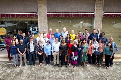 Monrovia, Liberia October 13, 2017 - Carter Center election observers.