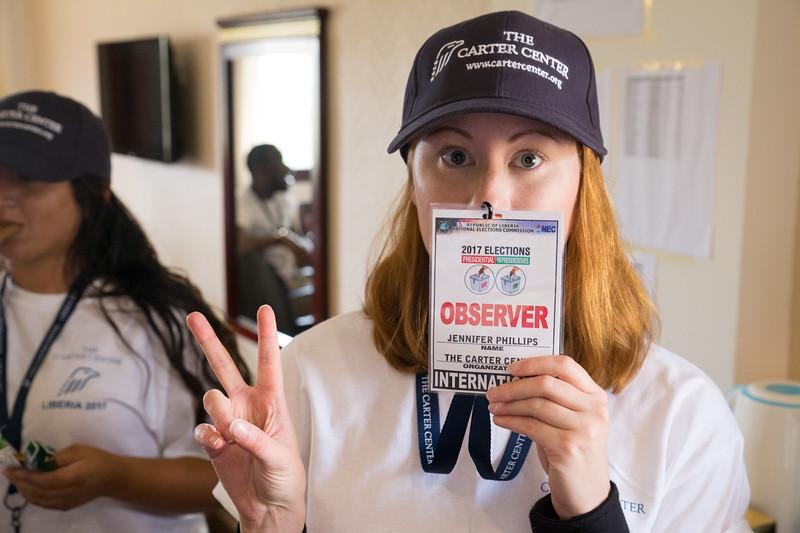 Monrovia, Liberia October 10, 2017 - Jennifer Phillips.