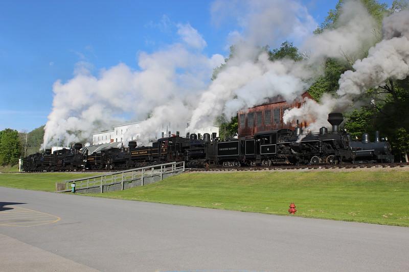 A Parade Of Steam