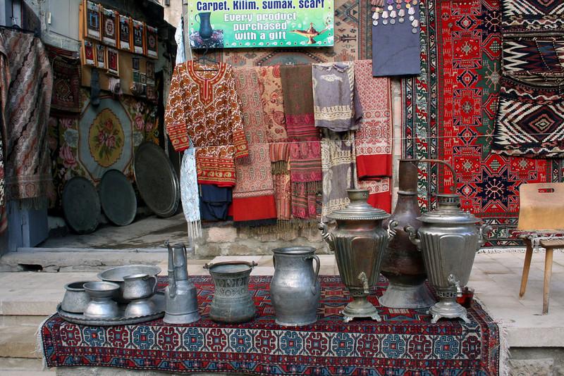 075 Baku, Old City