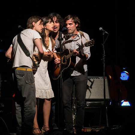 Barr Brothers opening for Brandi Carlile, August 24, 2012