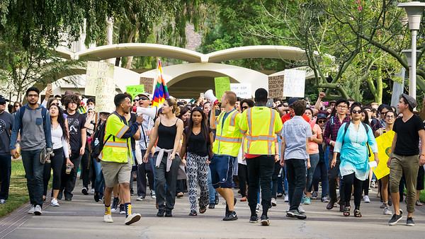 UCR Unity Protest