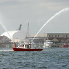 New Bedford fire boat leads the way