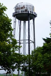 Water Tower at the Essex Steam Train Museum, Essex CT