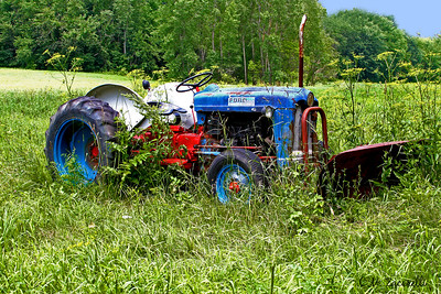Old Ford Tractor, RTE 7 Kent Ct..