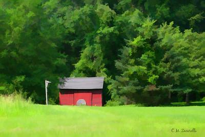 small Farm Shack, RTE 154 Haddam CT.