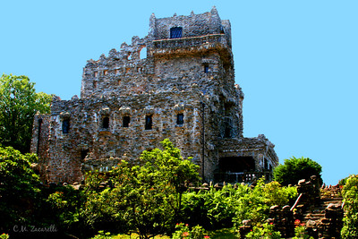 The Main Building at Gillette Castle State Park, Haddam CT.