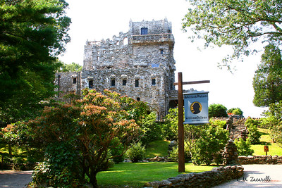 Walking up to the Castle, Gillette Castle, Haddam Ct.