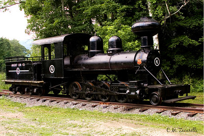 Old South Carolina Steam train, Used to haul Wood from Deep in the forests to the Lumber yards. RTE 7 in Kent, outside the Machinery Museum. Engine built in 1909.