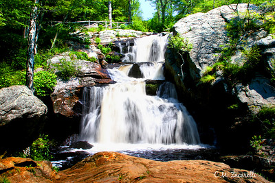 Devils Hopyard falls, Devils Hopyard State Park, East Haddam Ct.
