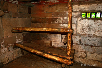 More Prisoner Bunks. Old New Gate Prison, East Granby CT.