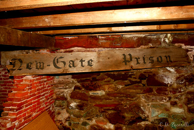 "Sign of the times, The ""olden"" times that is... Old New Gate Prison, East Granby CT."