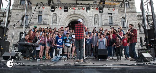 The Choir | Victoria Legislature Grounds | Victoria BC