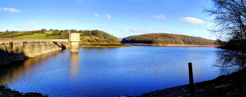 28 Dec 2016 - Wimbleball dam and reservoir