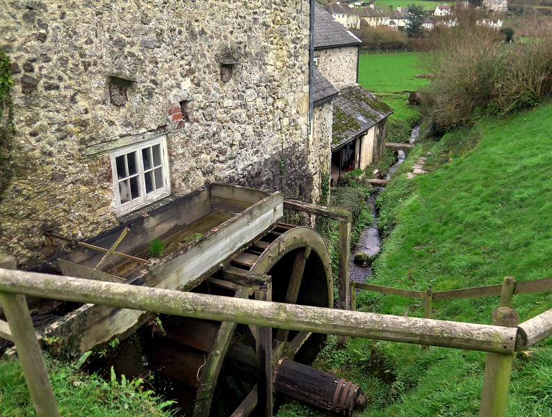 31 Dec 2016 - The Branscombe water mill