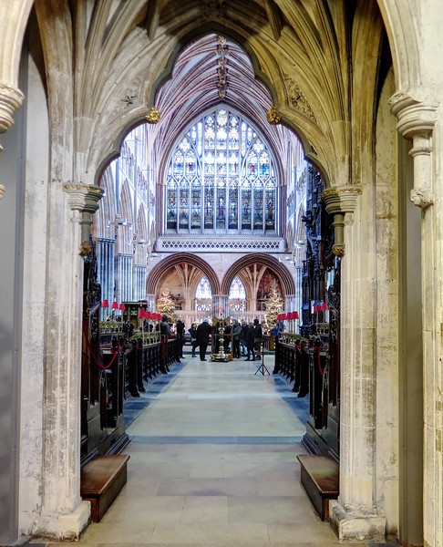 30 Dec 2016 - Exeter Cathedral Quire
