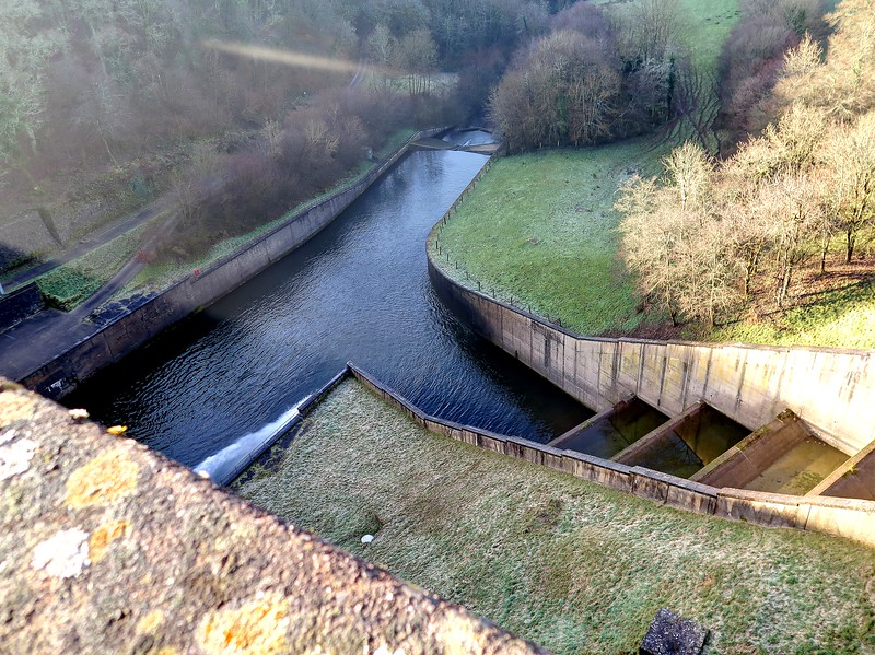 28 Dec 2016 - The spillway