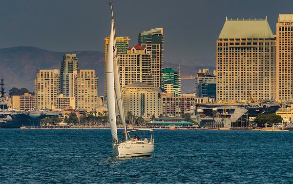 San Diego Sailing Photos