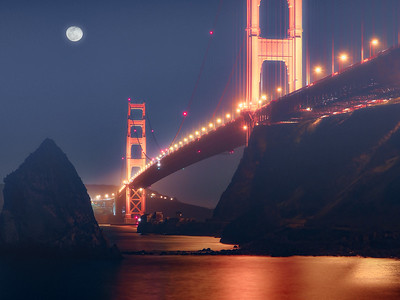 Fantasy Night at the Golden Gate